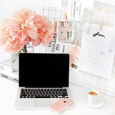 2017 Monthly Calendar by Jasmine Dowling Desk Inspo, Desk Inspiration, Office Tumblr, Print Calendar, Study Motivation, Home Office Decor, Decoration, Room Decor, Design