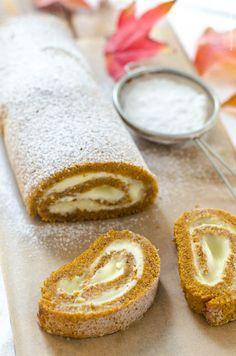 dýňová roláda Latte, Cheesecake, Cakes, Recipes, Food, Cake Makers, Cheesecakes, Kuchen, Essen