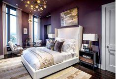 Tailored upholstery goes glam in this haute hideaway with cozy textures and brilliant pops of gold. A versatile sheepskin rug warms metallic contours while providing a soft spot to kick off your shoes. Looking for an easy addition? Storage ottomans beside the bed offer a chic space to stash unused linens.http://www.allmodern.com/deals-and-design-ideas/Beauty-Sleep%3A-Master-Bedroom~E14176.html?refid=SBP.rBAZEVQhEgRDsEqgc7ayAgAAAAAAAAAAAAAAAAAAAAA