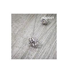 Découvrez Collier en Argent Massif 925 et Zirconites Double Chaîne Balls Hûggot (40 et 45 cm) de la nouvelle collection de bijoux fantaisie Hûggot ! Une large gamme de bagues, bracelets, boucles d...