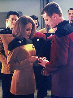 With this ring I thee wed....best couple in Star Trek