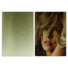 Aluminum Drawbench Board, Gold-15*20cm