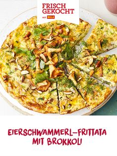 Frittata, Vegetable Pizza, Vegetables, Breakfast, Food, Meat, Easy Meals, Food Food, Meal