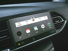 HMI Infotainment System Interface