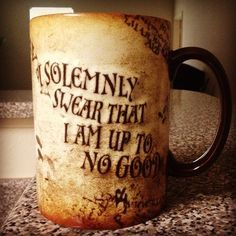 i want this coffee mug so we can drink hot chocolate while watching harry potter marathons<3