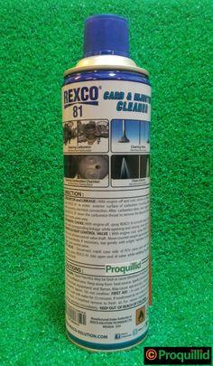 Carburetor & Injector Cleaner 81 500 ML / 425 G / 16.9 Oz - REXCO