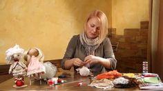 «Ручная работа». Кукла тыквоголовка (12.11.2014)