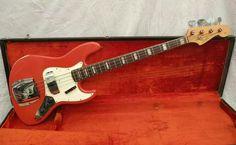 All original 66 Fender Jazz Bass