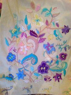 SORPRENDETE CON MIS LABORES: REFAJOS DE HUERTANA BORDADOS A MANO Murcia, Hand Stitching, Napkins, Embroidery, Motifs, Grande, Shandy, Flowers To Draw, Vegetable Garden