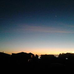 Checkout the sky in #whitianga  this morning