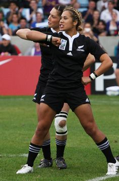 All Blacks = Badass Women's Rugby World Cup Final 2010 England vs New Zealand