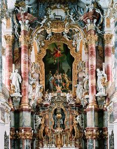 Breathtaking Photos of Opulent Baroque Church Altars by Cyril Porchet, via www.featureshoot.com.
