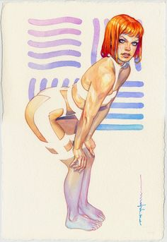 Leeloo by Brian Stelfreeze