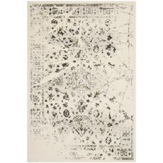 Found it at Wayfair - Porcello Ivory / Light Grey Contemporary Rug