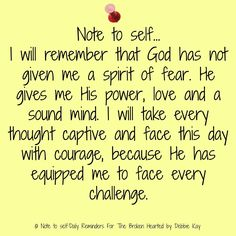 Note to self… I will remember there is nothing too difficult for God. I refuse to miss out on His blessings by doubting Him, not trusting Him, or refusing to step out in faith when He is tel… Faith Quotes, Bible Quotes, Bible Verses, Me Quotes, Scriptures, Sign Quotes, Wisdom Quotes, Woman Quotes, Religion