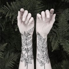 You can change a temporary tattoo as often as you change your clothes, but considering how beautiful this Fern and Crystal Temporary Tattoo set is, you'll want to keep these on your body as long as possible. Wear the two fern tattoos on your forearms for an edgy homage to nature.