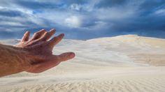 The Hand in Lancelin Sand Dunes