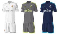 Camisas do Real Madr     Camisas do Real Madrid 2015-2016 Adidas