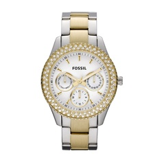 FOSSIL® Watch Styles Gold-Tone Watches: Stella Stainless Steel Watch - Two-Tone ES2944