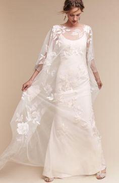 Featured Dress: BHLDN; Wedding dress idea.