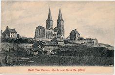 RECULVER - Reculver Church North View near Herne Bay 1800 - Kent - England   eBay