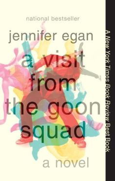 """Our """"Off the Shelf"""" book club pick for May: A Visit from the Goon Squad by Jennifer Egan ~ Bennie is an aging former punk rocker and record executive. Sasha is the passionate, troubled young woman he employs. Book Club Books, The Book, Books To Read, My Books, Book Nerd, Book Clubs, Reading Lists, Book Lists, Reading Time"""
