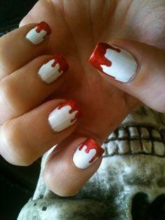 35 Ideas para pintar tus uñas de Halloween | Decoración de Uñas - Manicura y Nail Art