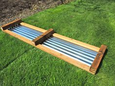 galvanized raised beds | ... side of the frame and the positioning of the galvanized metal piece