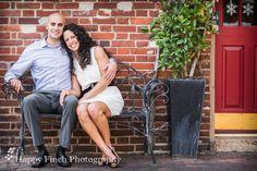 www.happyfinchphotography.com Engagement Photo: Alexandria, VA