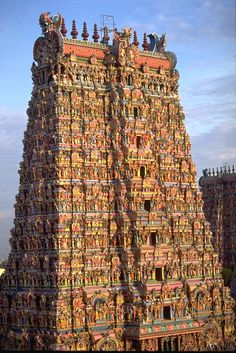 Meenakshi Temple ~Madurai, India