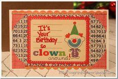 DIY Clown Around Card