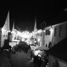 Burkheim - historic middle ages, cobbled street town