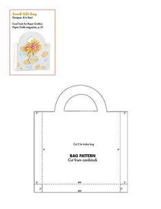 bags & boxes: free pattern / template downloads from Paper Crafts Connection #free #template #papercraft #printables