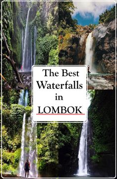 THE BEST WATERFALLS IN LOMBOK, INDONESIA