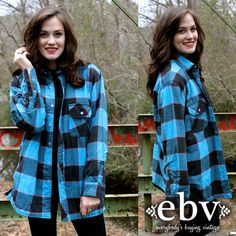 #Vintage 90's Dickies Blue Black Flannel Shirt Jacket M by shopEBV, $40.00