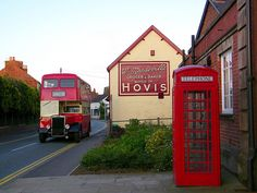 Holmes Chapel UK     I see a bakery a lovely boy used to work at...Harry <3>>>>>>next to a red phone booth