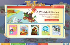 FarFaria - browse the virtual library and get access to unlimited children's stories #topkidsapps #freeapp