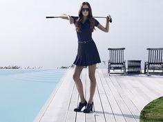 Womens Golf Wear, Golf Fashion, Ladies Golf, Sportswear, Mini Skirts, Spring Summer, How To Wear, Collection, Woman