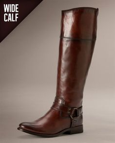 Melissa Harness Zip Wide - Wide Calf Boots for Women - The Frye Company