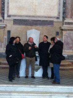 Uno scatto della giornata a Pozzuoli