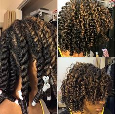 Cute Twist And Curl Shared By IG: TheOther_QueenB - http://community.blackhairinformation.com/hairstyle-gallery/natural-hairstyles/cute-twist-curl-shared-ig-theother_queenb/ #naturalhairstyles