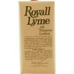 Royall Lyme Aftershave Lotion Cologne Spray 4 OZ
