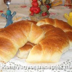 Könnyű Gyors Receptek - Krumplis kifli recept recept Bagel, Pizza, Bread, Cookies, Food, Crack Crackers, Brot, Biscuits, Essen