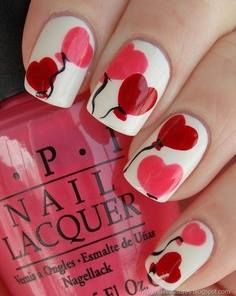 #Körömdíszítés és szívek... Várod már a szerelmesek napját? / #Nail decoration and hearts ... Are you looking forward to the day of love?