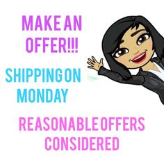 SHIPPING ON MONDAY! Make your offer.  Shipping on Monday!  Reasonable offers will be considered! T&J Designs Jewelry