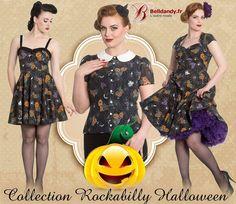 Bientôt Halloween !!!   Collection Pin-Up Rockabilly Gothique Gothabilly Harlow - Hell Bunny  http://www.belldandy.fr/catalogsearch/result/?q=harlow https://www.facebook.com/belldandy.fr/photos/a.338099729399.185032.327001919399/10154484449664400/?type=3