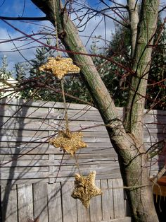 Happy Whimsical Hearts: Star garland for the birds