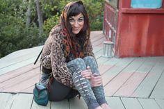 Bloem van leven Cutty creaties Leggings