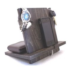 Anniversary Gifts For Boyfriend | Wood Cell Phone Dock – Palmetto Wood Shop