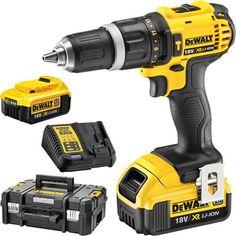 Dewalt DCD795N 18 V XR Brushless Combi Perceuse 2 X 4Ah Batteries Chargeur DCB115